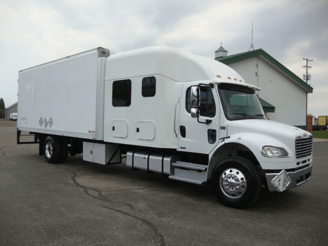 a fusiontransportation truck for electronics shipping