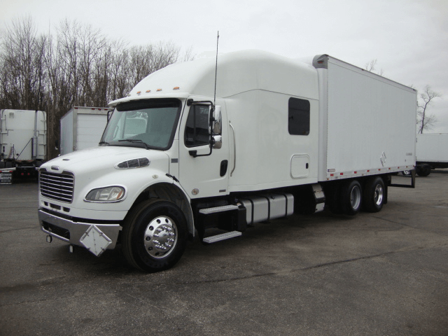 a fusiontransportation truck for expedited freight
