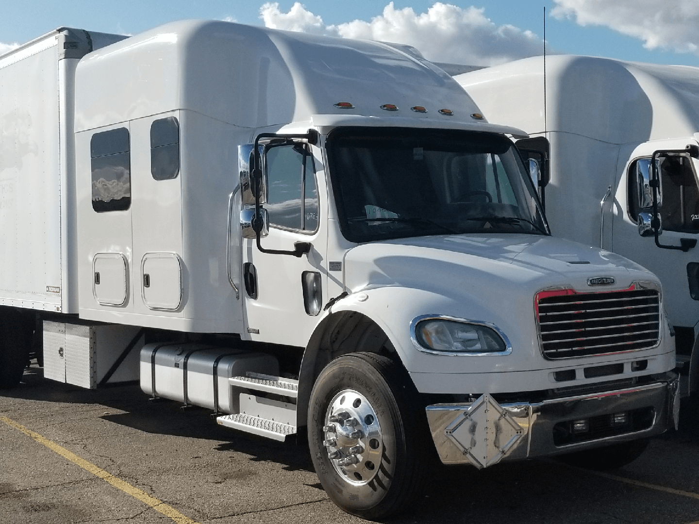 a fusiontransportation truck for expedited shipping
