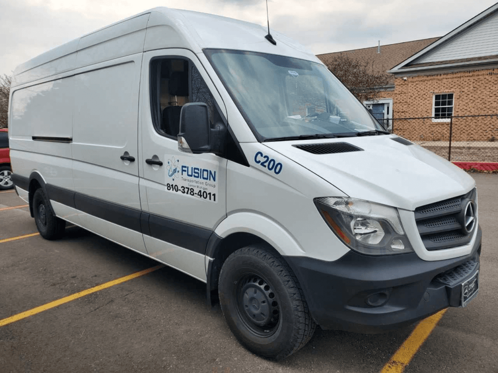 a fusiontransportation truck for expedited trucking